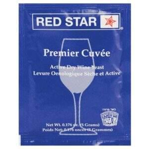 שמרים Premier Cuvee לייצור יין אדום ,לבן ושמפניה.