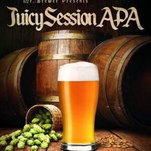 ערכה מגרעיני לתת Juicy Session APA להכנת 20 ליטר בירה. (All Grain)