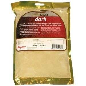 לתת אבקתי Spraymalt Dark (500 גרם)